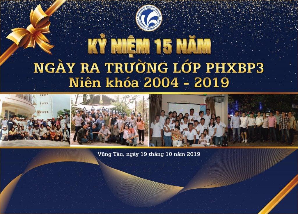 Tiệc Kỷ Niệm 15 ra trường lớp PXPP3 Tại Ruby Villa RL03 Vũng Tàu
