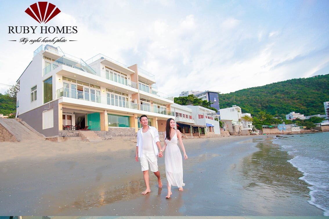 ruby villa beach front