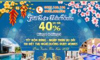 GỬI LỘC ĐẦU XUÂN BIỆT THỰ RUBY HOMES ƯU ĐÃI GIẢM GIÁ LÊN ĐẾN 40%